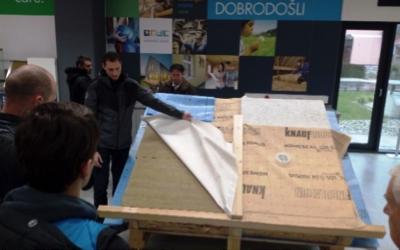 Na obisku: V Knauf Insulation in Šolski center Škofja Loka Srečanje ŠS ENE, ISI